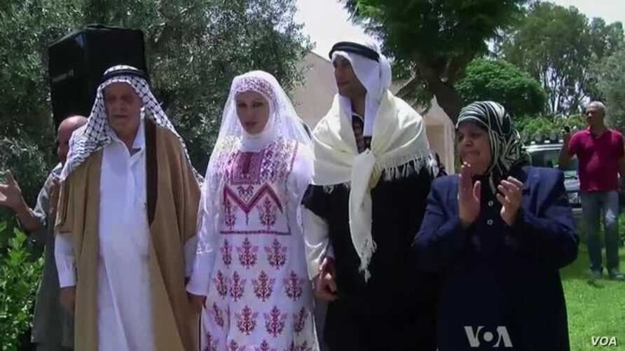 Traditional Palestinian Wedding Allows Elder Generation to Keep Heritage Alive