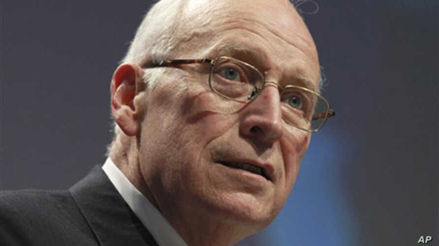 Former Vice President Dick Cheney addresses the Conservative Political Action Conference in Washington (File)