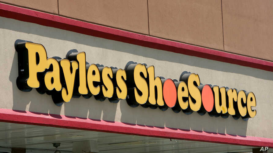 FILE - A Payless ShoeSource store front in Philadelphia.