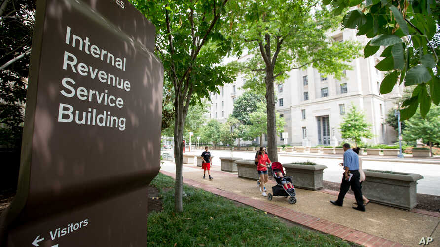 IRS Federal Building, the Internal Revenue Service Building in Washington, Aug. 19, 2015.