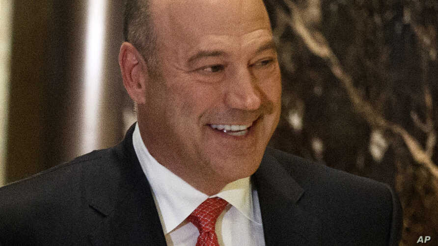 Goldman Sachs COO Gary Cohn arrives at Trump Tower in New York, for a meeting with President-elect Donald Trump, Nov. 29, 2016.
