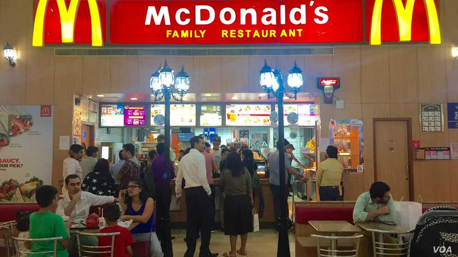 Fast food joints like McDonalds and Pizza Hut are a popular stop for Indians and is ramping up its presence in the country.