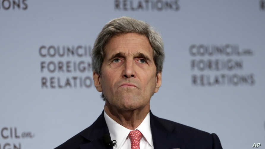 Secretary of State John Kerry speaks on the Iran nuclear deal at the Council on Foreign Relations, in New York, July 24, 2015.