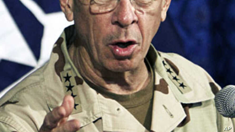 Admiral Mike Mullen, chairman of the U.S. Joint Chiefs of Staff (file)