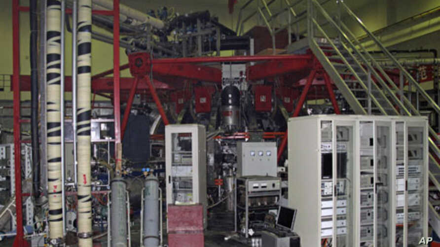 Experimental nuclear fusion reactor is seen at a laboratory in the Southwest Institute of Physics in Chengdu, Sichuan Province. All signs point to China pushing ahead with its long-term construction and development of advanced nuclear reactors and re
