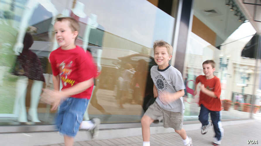 """A new study says children run more slowly than their parents and have worse cardiovascular health (Via <ahref=""""http://www.flickr.com/photos/chicagonorthshore/"""">Flickr</a>)"""