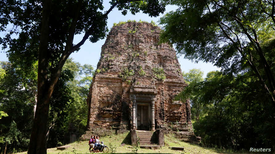 Sambor Prei Kuk temple, an archaeological site of Ancient Ishanapura, is seen in Kampong Thom province, Cambodia, May 20, 2017.