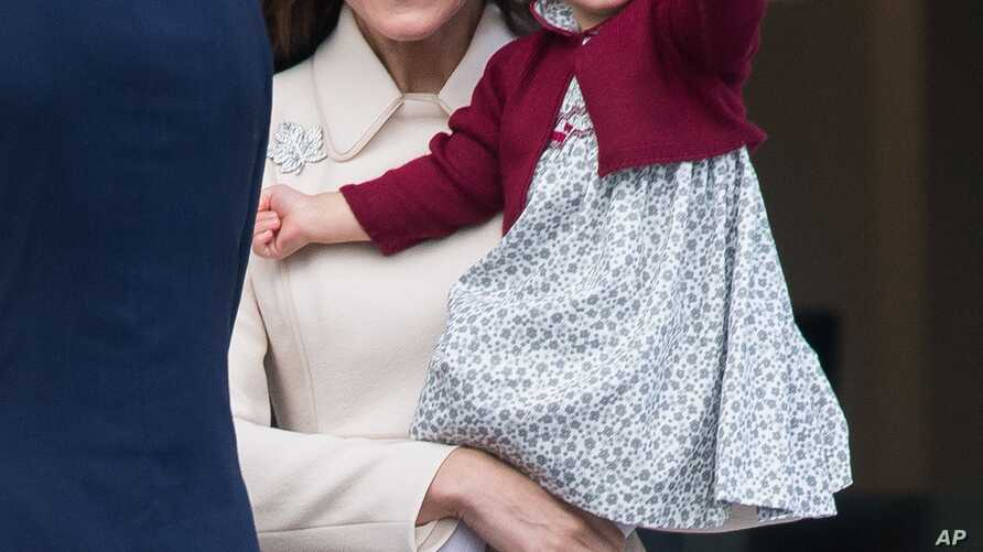 Prince William The Duke of Cambridge and Catherine The Duchess of Cambridge with their children Prince George and Princess Charlotte depart Victoria following their Royal Tour of Canada.