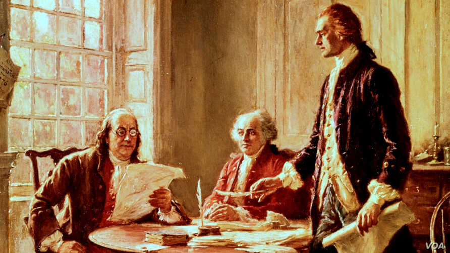 Drafting of the Declaration of the Independence