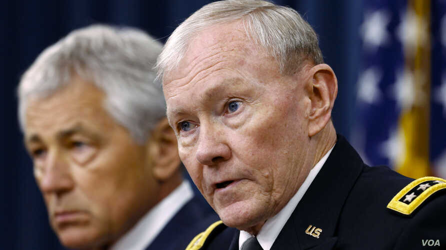 US Military Leaders Lay Out Goals for Syria Attack