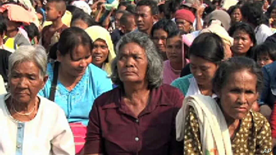 Border clashes have left thousands of villagers homeless from Thai-Cambodia border area