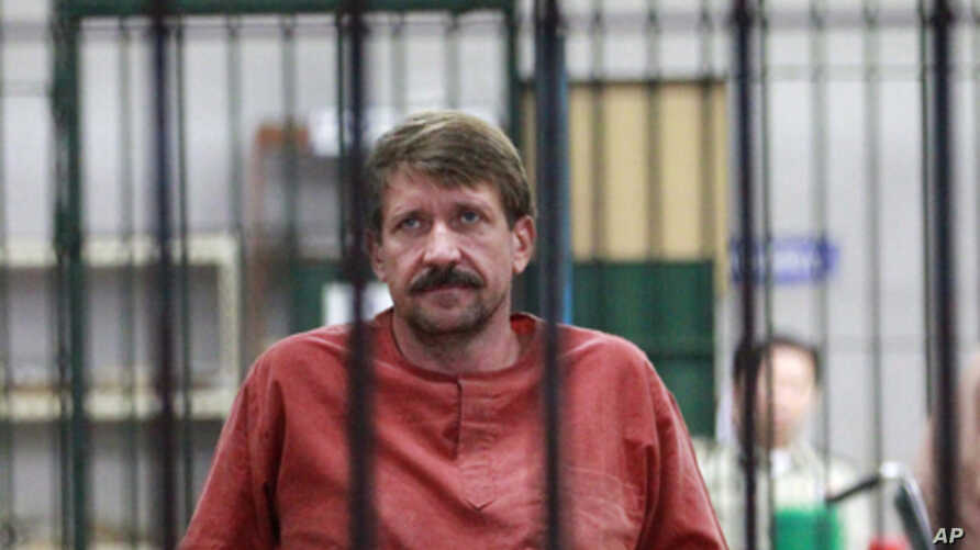 Accused arms dealer Viktor Bout (file photo)