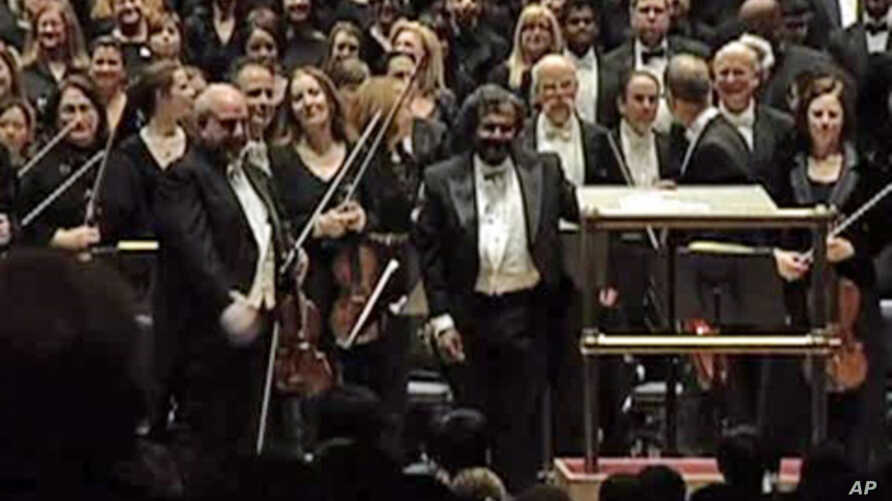 "Classical music conductor, George Matthew, who organized the charity concert ""Beethoven for the Indus Valley"" at New York's Carnegie Hall to raise money for victims of Pakistan's historic floods."