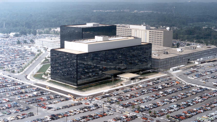 An undated aerial handout photo shows the National Security Agency (NSA) headquarters building in Fort Meade, Maryland.  REUTERS/NSA/Handout via Reuters   (UNITED STATES - Tags: POLITICS) THIS IMAGE HAS BEEN SUPPLIED BY A THIRD PARTY. IT IS DISTRIBUT