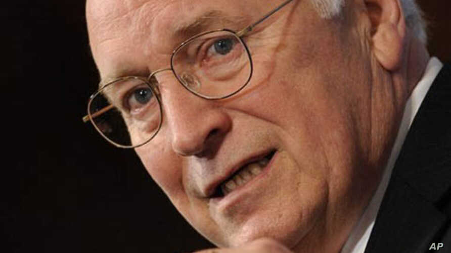 Former US Vice President Dick Cheney