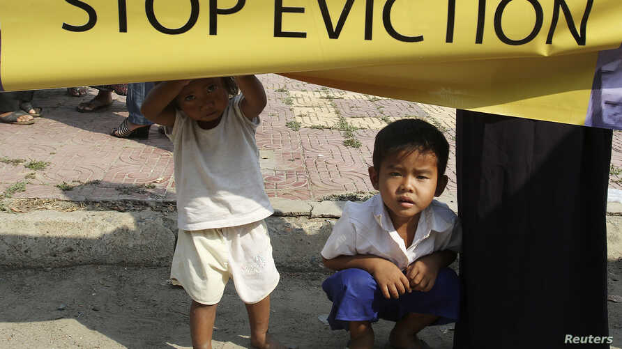 Cambodia land evictions