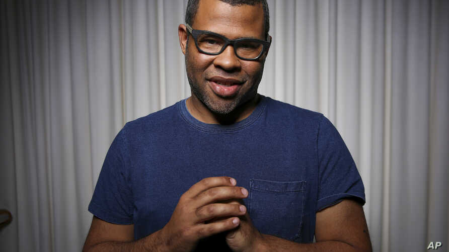 "Jordan Peele poses for a portrait at the SLS Hotel in Los Angeles, Feb. 9, 2017. Peele's directorial debut, ""Get Out,"" functions both as a taut psychological thriller and as searing social commentary about racism in the modern era."