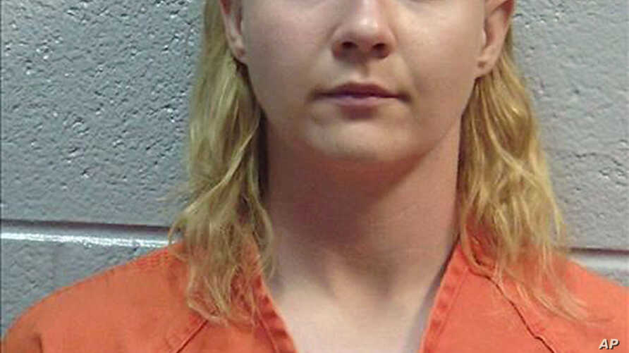 This June 2017 photo released by the Lincoln County (Ga.) Sheriff's Office, shows Reality Winner. Winner, is being held for federal authorities at the Lincoln County, Ga., jail.