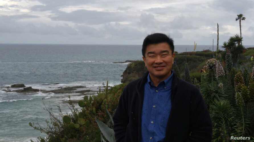 Tony Kim, one of the three Americans being held captive by North Korea, is seen in this handout photo taken in California in 2016.