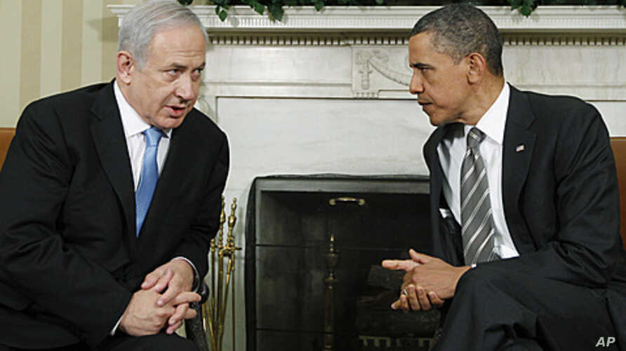 President Barack Obama meets with Prime Minister Benjamin Netanyahu of Israel in the Oval Office at the White House in Washington, May 20, 2011