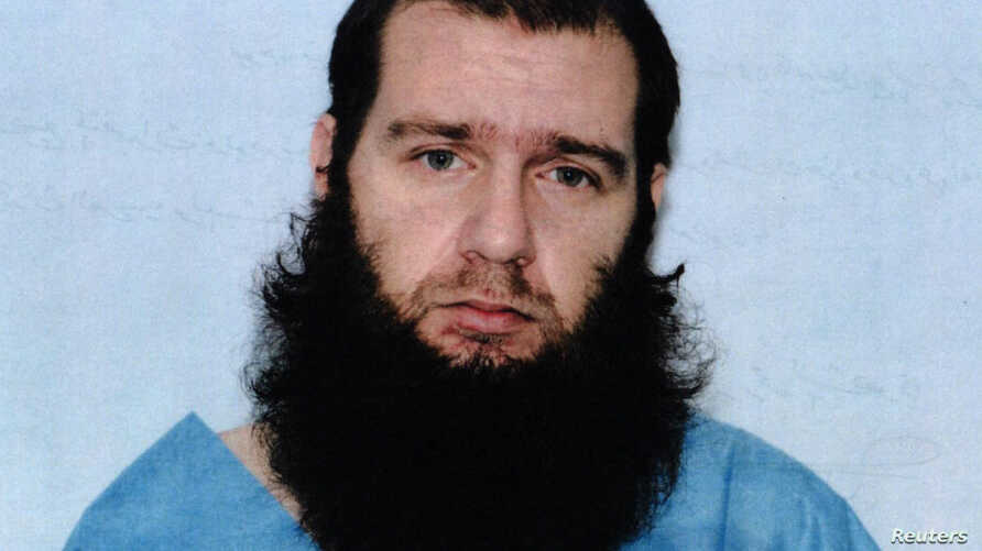Muhanad Mahmoud Al-Farekh, an American citizen, is pictured in this handout photo obtained by Reuters, Sept. 29, 2017.