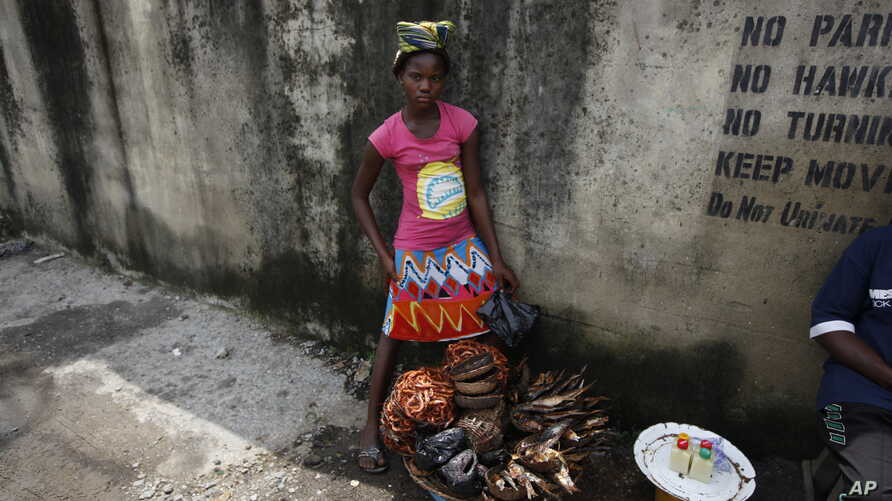 Thousands of Nigeria's girls have to quit school to work as petty traders and support their families.