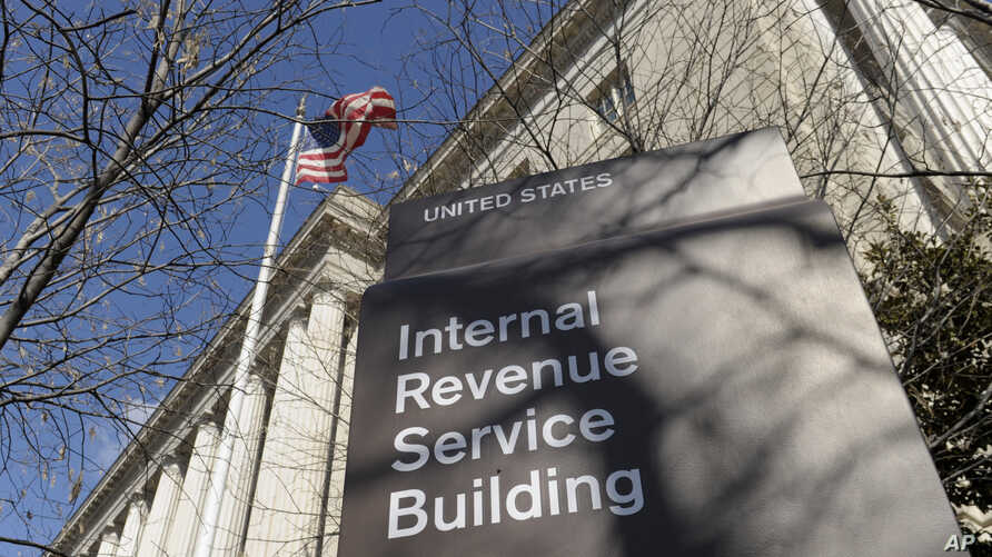 FILE - This March 22, 2013, file photo shows the exterior of the Internal Revenue Service building in Washington.