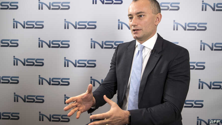 Nickolay Mladenov, UN Special Coordinator for the Middle East Peace Process, speaks during an interview on Jan. 30, 2018 in the Israeli city of Tel Aviv.