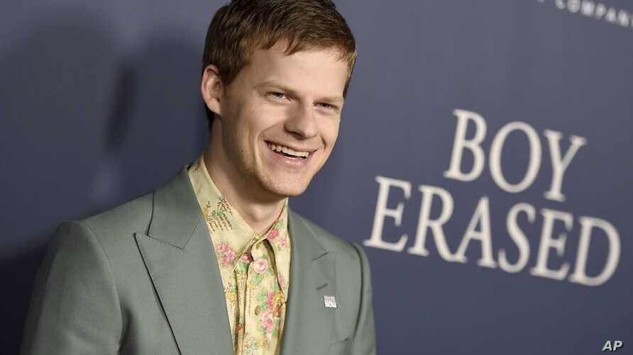 "Lucas Hedges arrives at the Los Angeles premiere of ""Boy Erased,"" Oct. 29, 2018, at the Directors Guild of America."
