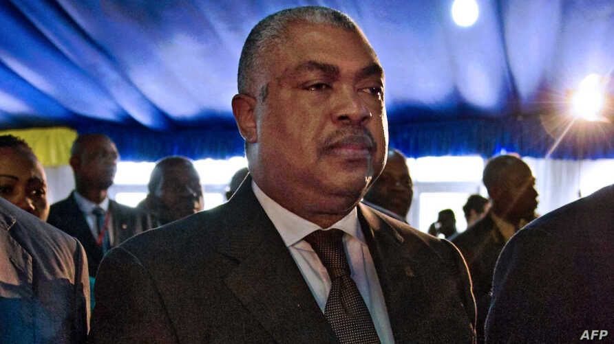 "FILE - Opposition politician Badibanga Ntita Samy (C) is seen attending the opening ceremony of a Congolese ""National Dialogue"" in the Democratic Republic of Congo's capital Kinshasa, Sept. 1, 2016. In a surprise move, President Joseph Kabila on Thur"
