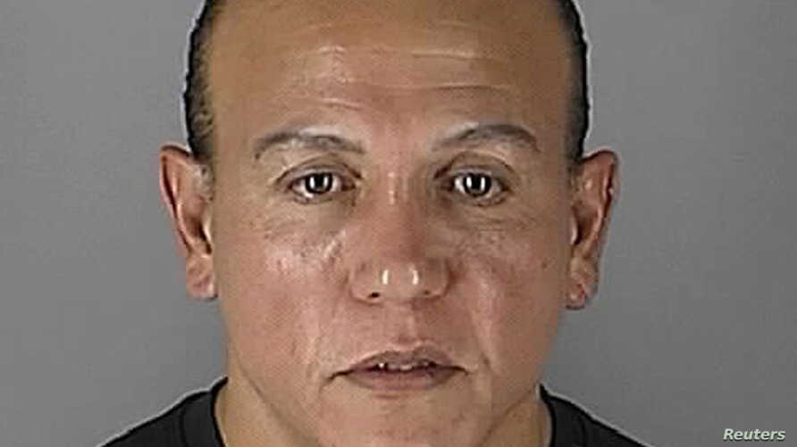 FILE - Cesar Sayoc appears in Minneapolis, Minnesota, in this Aug. 31, 2005, handout booking photo obtained by Reuters Oct. 26, 2018.