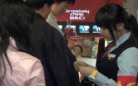 Entertainment and movie going is booming in China