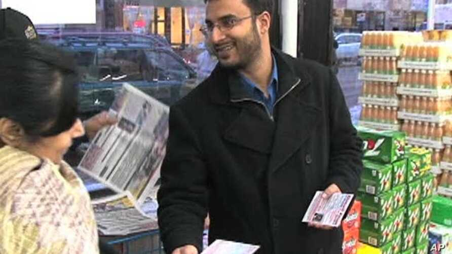 Ahmed Khan is running for alderman (city council member) in Chicago's 50th Ward