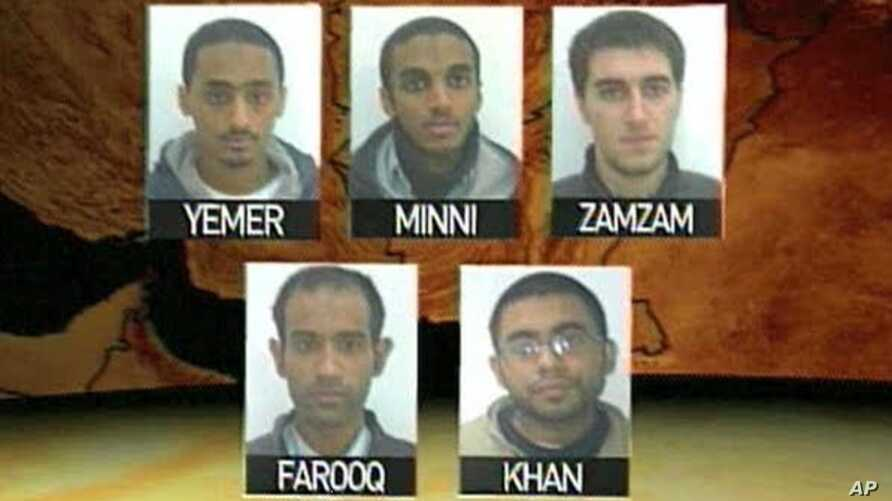 The five suspected terrorists from Virginia were arrested in Pakistan allegedly for attempting to engage in Jihad against the US troops in Afghanistan
