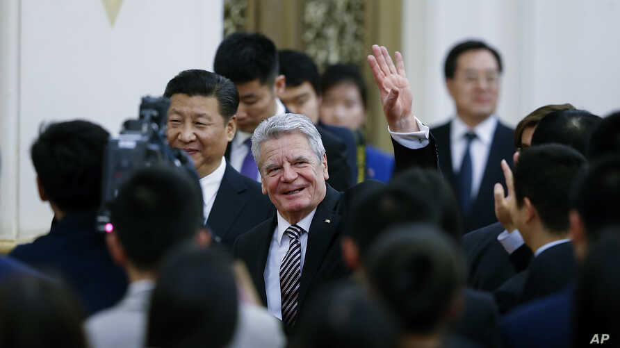 German President Meets Lawyers of Prominent Chinese Journalist
