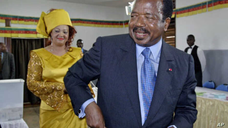 Cameroon President Paul Byia (file photo)