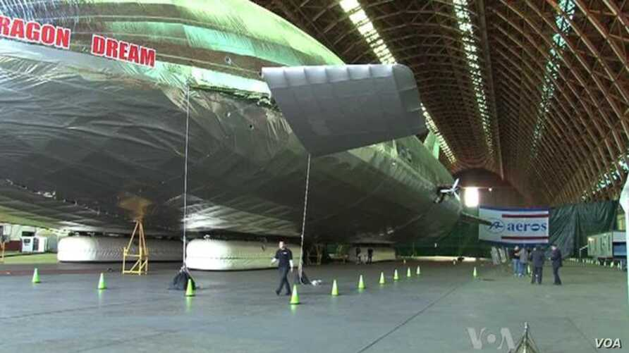 Giant Airship Could Move Huge Amounts of Cargo
