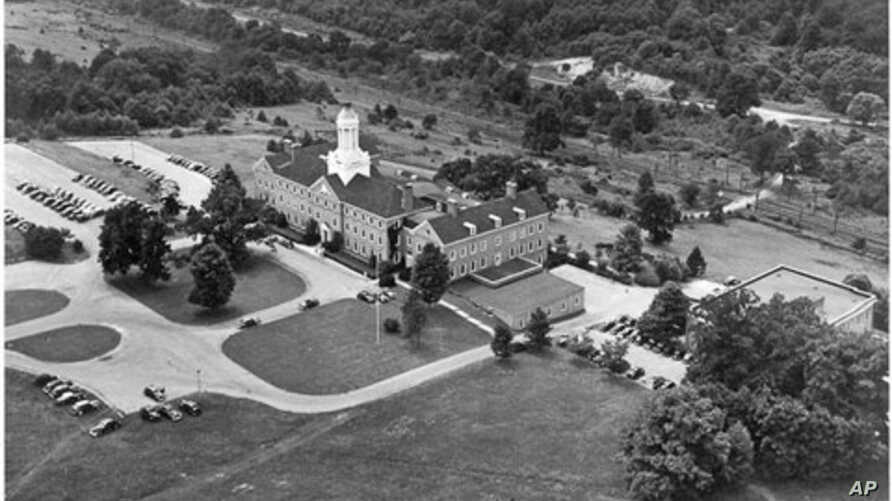 The impressive 'Reader's Digest' complex in Chappaqua rivaled many college campuses.