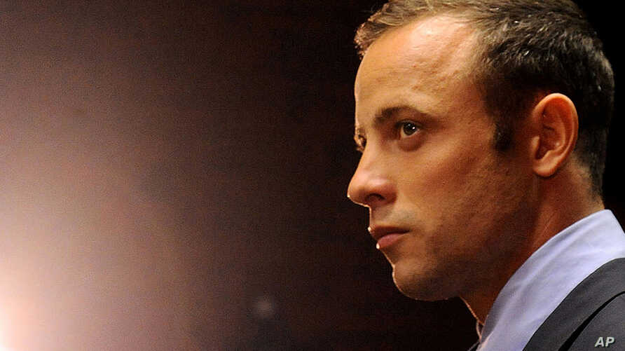 Oscar Pistorius in court in Pretoria, South Africa for his bail hearing, February 22, 2013
