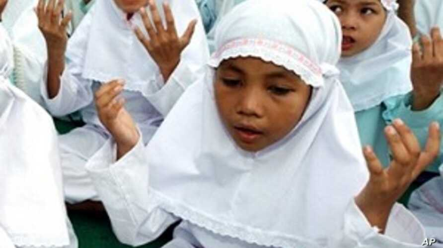 Orphans in Indonesia (file photo)