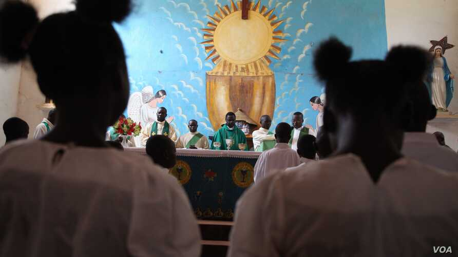 The bishop of Bossangoa fears a growing sectarian divide following gross human rights violations on civilians by mainly Muslim, Nov. 10, 2013, Hanna McNeish for VOA.