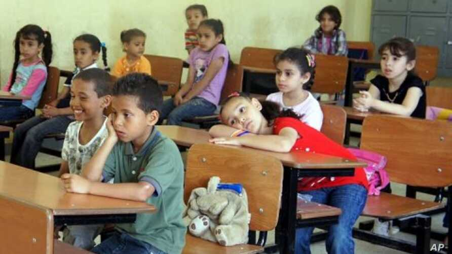 The few classes that are in session are light on studying,  Benghazi (File Photo - June 26, 2011)