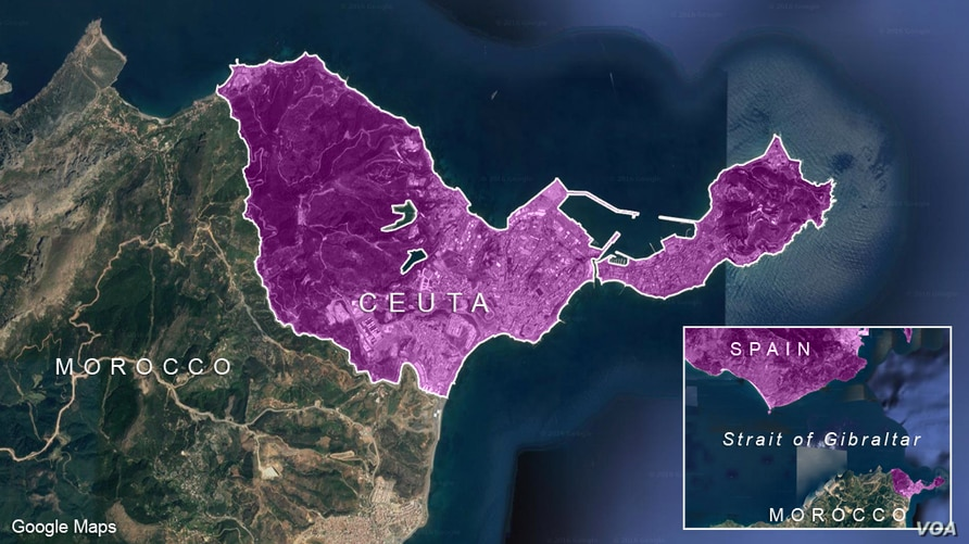 Spain's north African enclave of Ceuta