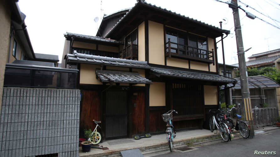 """The traditional Kyoto """"machiya"""" townhouse belonging to Sae Cardonnel and her French husband Sylvain, which was restored with a specialized loan from a Kyoto Shinkin Bank, is pictured in Kyoto, Japan, June 26, 2016."""