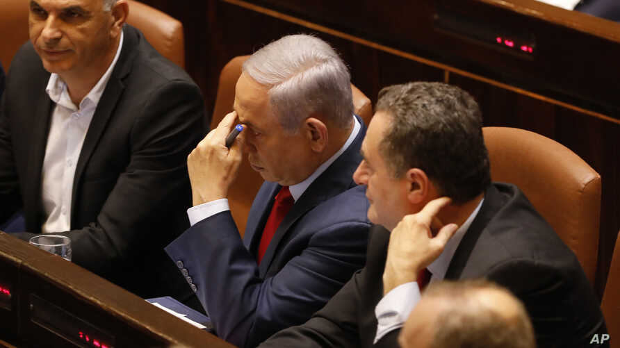 Israeli Prime Minister Benjamin Netanyahu is pictured before voting in the Knesset, Israel's parliament, in Jerusalem, May 29, 2019. Israel's parliament has voted to dissolve itself, sending the country to an unprecedented second snap election this y...