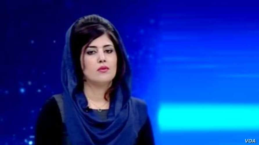 Afghanistan - Mena Mangal Former TV presenter in Ariana TV Network killed by unknown armed motorbike riders in Kabul city. undated