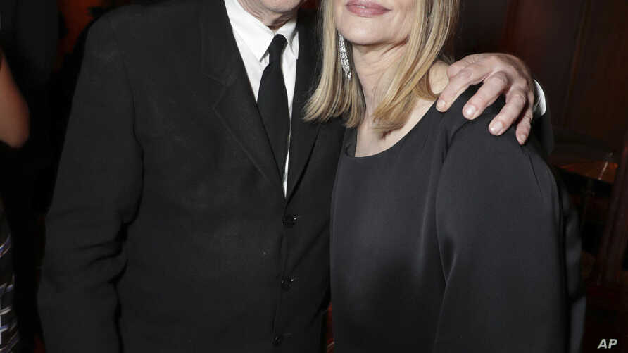 """Creator and Executive Producer David Lynch and Peggy Lipton pictured at Showtime's """"Twin Peaks"""" premiere afterparty, May 19, 2017 in Los Angeles."""