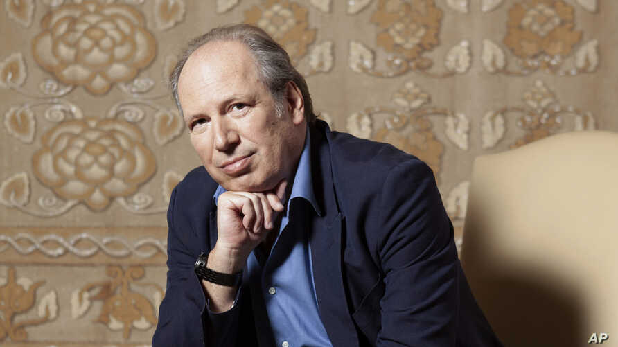 """Composer Hans Zimmer poses for a portrait at the Montage Hotel in Beverly Hills, Calif., to promote the film """"The Lion King,""""  July 10, 2019."""