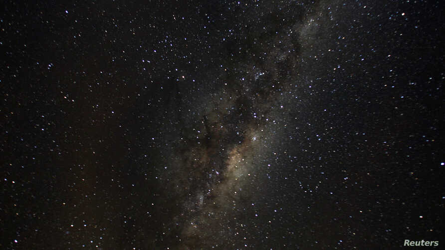 FILE - A view of the Milky Way from an area of Puyehue National Park near Osorno City, Chile, May 8, 2008.