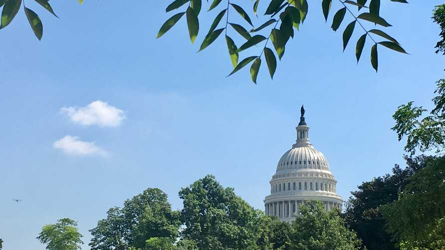 The dome of the United States Capitol Building is seen in this general view in Washington, July 24, 2019. (Photo: Diaa Bekheet)